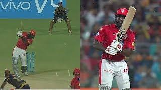 IPL 2018 KKR VS KXIP:K L Rahul 60 Run in 27 Ball,Chris Gayle 62 Run in 38 Ball