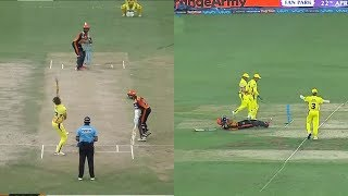 IPL 2018 SRH vs CSK at Hyderabad: Kane Williamson 84 Run  Batting ,Yusuf Pathan 45 Run