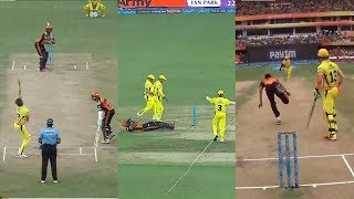 IPL ipl 208 CSKvs SRH Hyderabad : SRH VS CSK ,CSK win by 4 Runs