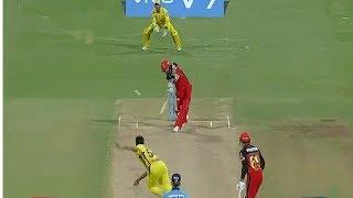 IPL 2018 CSK VS RCB , Royal Challengers Bangalore 205/8 ,RCB  Target 206 Run Win, CSK VS RCB
