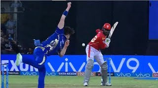 IPL2018 KXIP VS MI: Chris Gayle 50 Run in 40 Ball ,KXIP VS MI Chris Gayle