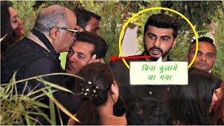 सोनम के रिसेप्शन पर पहुंचे सलमान को देख अर्जुन कपूर का हुआ डिमाग ख़राब | Salman Khan VS Arjun Kapoor