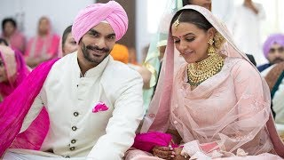 Neha Dhupia and Angad Bedi are wife and husband now | News Remind