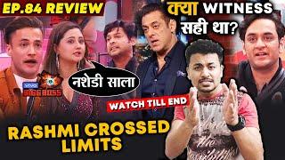 Bigg Boss 13 | Rashmi Desai And Sidharth Shukla NON-STOP Fight In Front Of Salman | BB 13 Video
