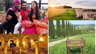 Virat Kohli And Anushka Sharmas Grand Wedding Taking Place in Italy