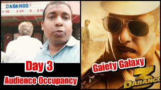 Dabangg 3 Audience Occupancy Day 3 At Gaiety Galaxy Theatre Is Humongous