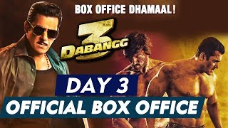 Dabangg 3 DAY 3 OFFICIAL Box Office Collection | Salman Khan | Chulbul Pandey