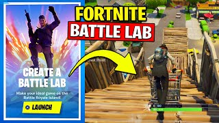 Fortnite Battle Lab Tutorial - Make Your own LTM & Battle Royale Map (How to)