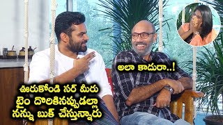 Prathi Roju Pandage Movie Team Hilarious Interview | Sai Dharam Tej | Sathyaraj | Maruthi