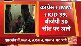 #Jharkhand में JVM 4, AJSU 4, अन्य 4 पर आगे