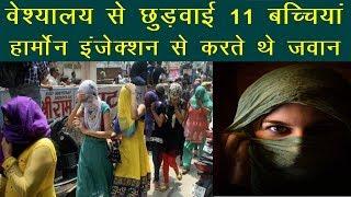 Taza Khabar | News | वेश्यालय से छुड़वाई 11 बच्चियां, हार्मोन इंजेक्शन से करते थे जवान | News Remind