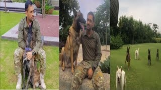 MS Dhoni's Hardcore Trainning With Their Dogs | News Remind