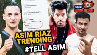 Bigg Boss 13 | Asim Riaz Fans SENDS Message To Gautam Gulati | Tell Asim Trending | BB 13 Video