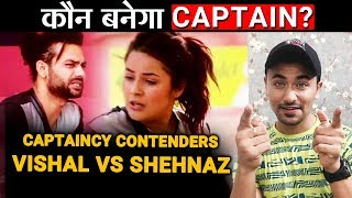 Bigg Boss 13 | Vishal And Shehnaz Becomes Captaincy Contenders | Mangal Graha Task | BB 13 Video