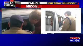 Anti-CAA stir: UP cops stop Rahul, Priyanka on way to meet victim family in Meerut