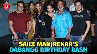 Saiee Manjrekar Celebrates A Star-Studded Birthday Bash | Salman Khan | Arbaaz Khan Dabangg 3