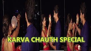Karwa Chauth 2019 :- Gurmeet Chaudhary And Debina Celebrate Karwa Chauth | News Remind