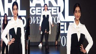 Sonam Kapoor Ramp Walk For Karl Lagerfeld  | News Remind