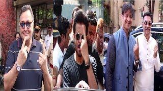Deepika, Anil Kapoor,Vivek Oberoi & More Vote In Mumbai | News Remind