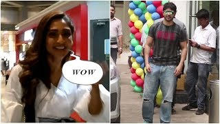 Varun Dhawan  & Krystle D' souza Spotted At Airport  | News Remind