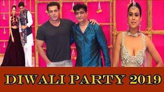 Salman Khan,Sohail Khan,Krishan Kumar & More Celebs At Guru Randhawa Diwali Party 2019 | News Remind