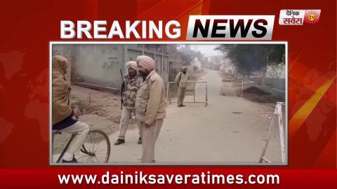 Manna Murder Case :  पूछताछ के लिए Police Gangster Lawrence Bishnoi को Rajasthan से लाई Malout