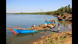 WATCH: How Rising Goans Expose Illegal Sand Mining At Amona In CM's Constituency