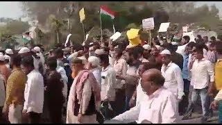 NRC Aur CAA Ke Khilaaf Nirmal Ki Awaam Sadko Par   Thousands Of People On Road   @ SACH NEWS  
