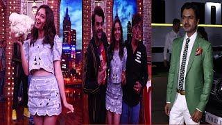 Ananya Pandey,Chunkey Pandey, Athiya & Nawazuddin Visit Movie Masti    News Remind