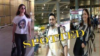 Alia Bhatt, Ayushman Khurrana & Yami Gautam Spotted At Airport | News Remind
