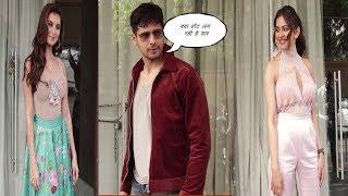Rakul Preet,Tara Sutaria & Siddharth Malhotra Spotted Promoting Movie Marjavaan  | News Remind