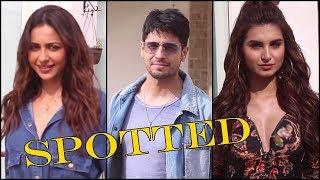 Tara Sutaria, Siddharth Malhotra & Rakul Preet Singh Promoting Film Marjaavaan   News Remind