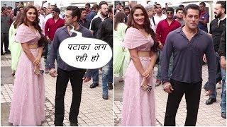 Salman Khan Grand Entry At Trailer Launch Of Dabangg  3    News Remind