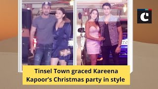 Tinsel Town graced Kareena Kapoor's Christmas party in style