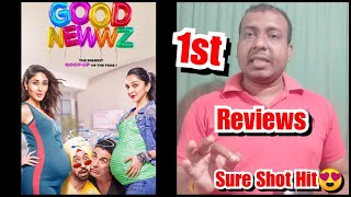 Good Newwz First Reviews Are Out Now, Akshay Kumar Film Is A Big HIT