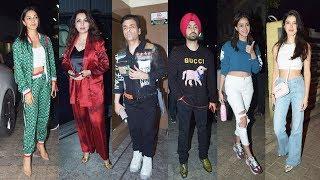 Good Newwz Screening At PVR Juhu | Ananya Pandey, Kiara Advani, Diljit Dosanjh