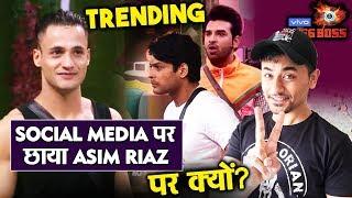 Bigg Boss 13 | Asim Riaz TRENDS On Social Media As He Bags 4th Position In TV Personaltiy 2019