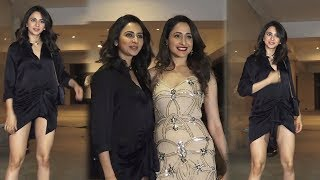 Rakul Preet Singh, Pragya Jaiswal Looks Super Hot At Actor Jackky Bhagnani Birthday Party