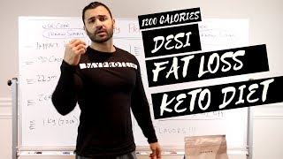 Desi Fat Loss KETO DIET PLAN! (Hindi / Punjabi)