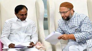 CAA, NRC और NPR को लेकर Asaduddin Owaisi ने CM KCR से की मुलाकात