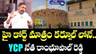 Katasani Rambhupal Reddy About AP Capital | BS Talk Show | YSRCP | AP 3 Capitals | Top Telugu TV