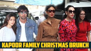Kapoor Family Christmas Brunch :  Ranbir-Alia, Saif-Kareena Give Major Couple Vibes
