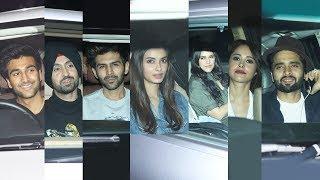 GOOD NEWWZ Screening At Yash Raj | Kartik aaryan, Nushrat Bharucha, Diljit Dosanjh