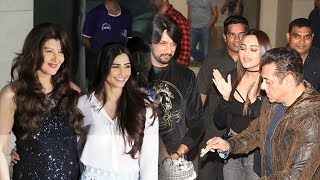 Daisy Shah And Sangeeta Bijlani Looks Stunning At Salman Khan 54th Birthday Bash