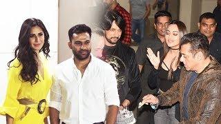 Stunning Katrina Kaif And Ali Abbas Zafar At Salman Khan's 54th Birthday Bash