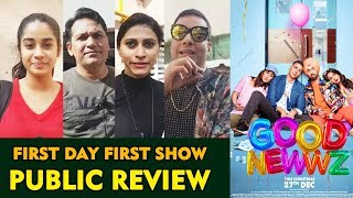 Good Newwz PUBLIC REVIEW | First Day First Show | Akshay Kumar , Kareena Kapoor, Diljit, Kiara