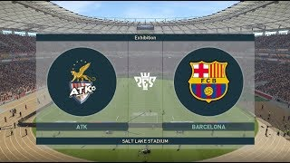 ATK VS FC BARCELONA || PES 20 || #BETA_TEST NEW CONTENT