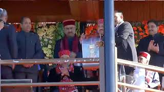 Shri Amit Shah & Shri JP Nadda address the function on completion of two years of HP Govt in Shimla