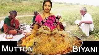 Mutton Biryani Making Telugu | Grandpa Kitchen | Non Veg | Anu Radha | Top Telugu TV
