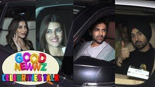 Celebrities Talk On Good Newwz Movie | Good Newwz Screening At Yash Raj Films